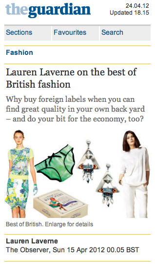 Lauren Laverne chooses PAPER London as one of her favourites
