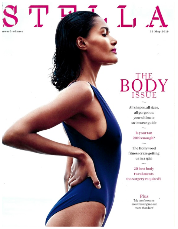 STELLA MAGAZINE'S BODY ISSUE FEATURES THE ARUBA SWIMSUIT IN THE SUSTAINABLE EDIT OF THEIR ULTIMATE SWIMWEAR GUIDE