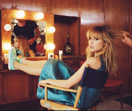 Suki Waterhouse in PAPER London for the Superga SS14 Campaign