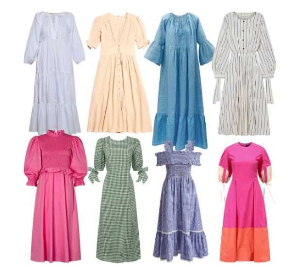 PAPER Featured in The Times : 'THE WARDROBE UPDATES TO BUY NOW: THE PICNIC DRESS, DENIM AND SUMMER SANDALS'