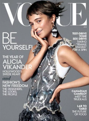 SS16s Katia Top is featured in January's edition of US Vogue